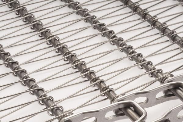 TBU 40 Full Metal Spiral Belt